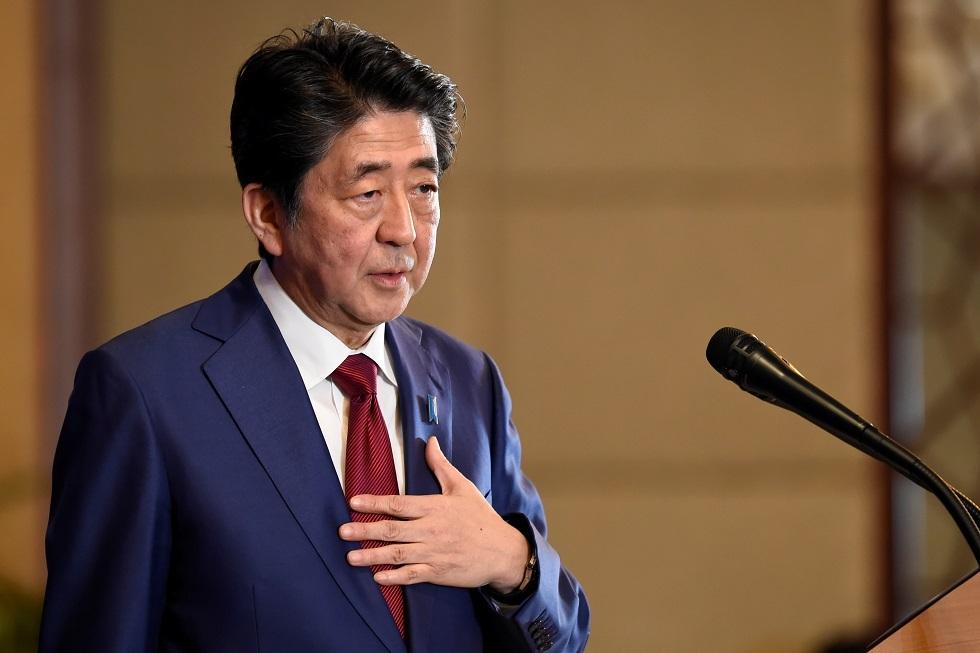 تلفزيون: رئيس وزراء اليابان يلغي رحلته للشرق الأوسط