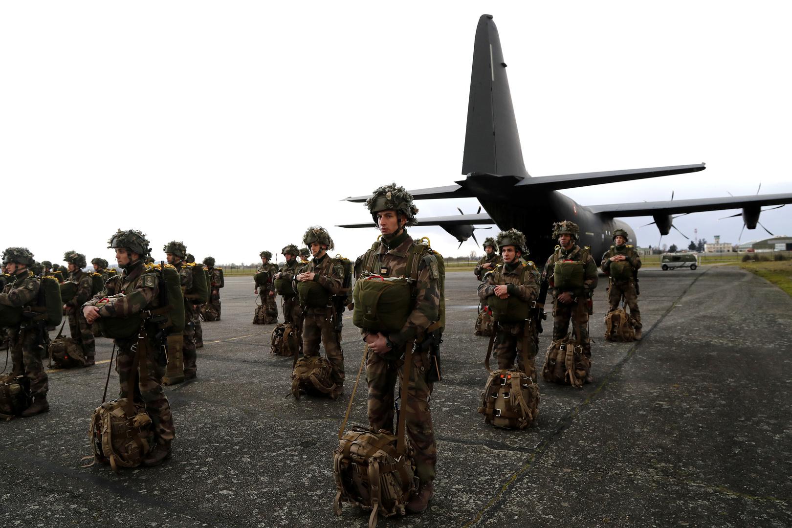 فرنسا لا تعتزم سحب قواتها من العراق بعد الضربات الإيرانية
