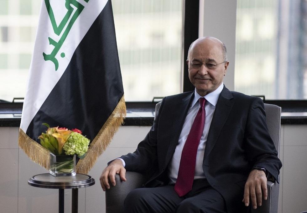 برهم صالح: بردا وسلاما على عراقنا الحبيب