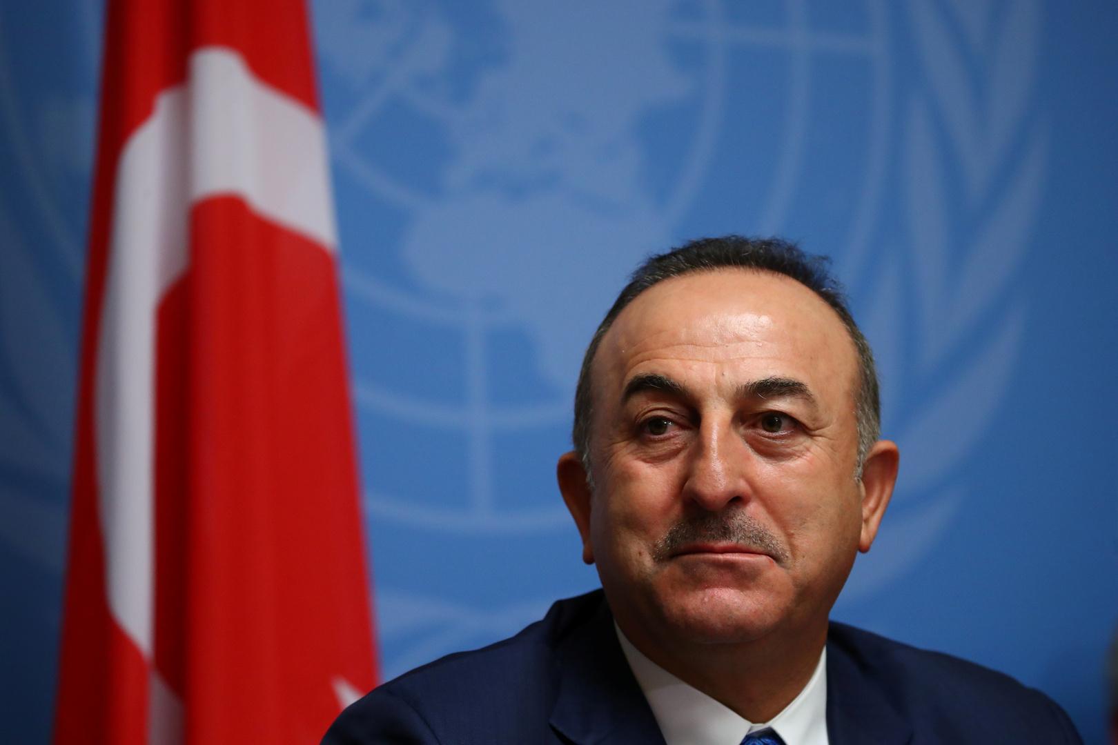 وزير الخارجية التركي يزور العراق غدا لبحث التطورات الأخيرة في المنطقة