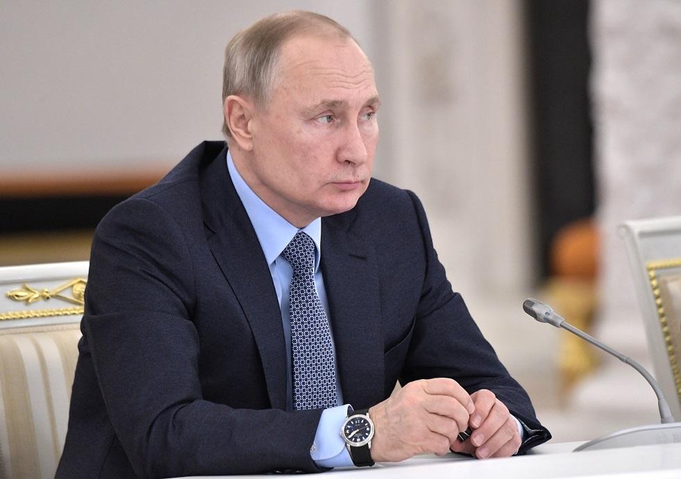 بوتين يعزي زيلينسكي وروحاني بضحايا تحطم الطائرة