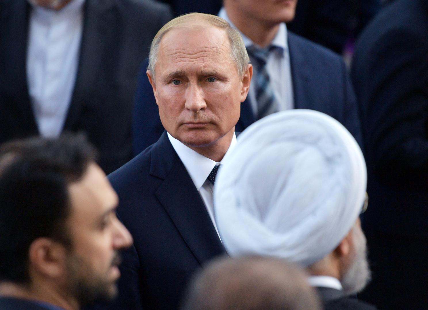 بوتين يرسل برقية تعزية إلى روحاني بشأن الضحايا الإيرانيين في الطائرة الأوكرانية المنكوبة