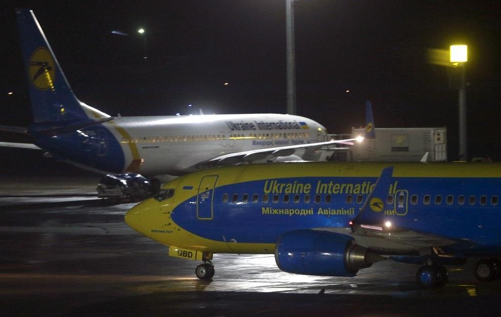 شركة الطيران الأوكرانية توقف رحلاتها إلى طهران لأجل غير مسمى