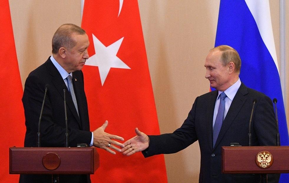 بوتين وأردوغان يجريان مباحثات خلف أبواب مغلقة في اسطنبول