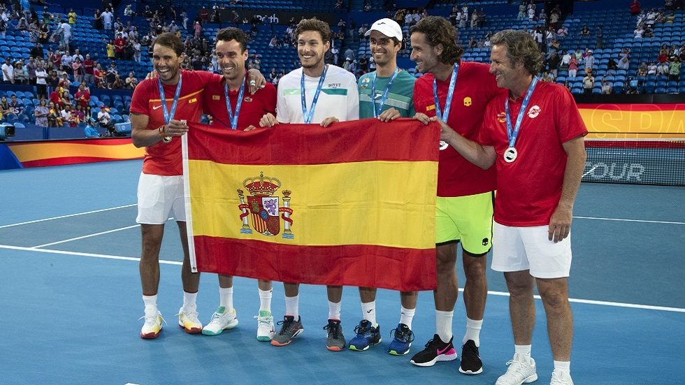 كأس رابطة المحترفين للتنس.. إسبانيا إلى ربع النهائي