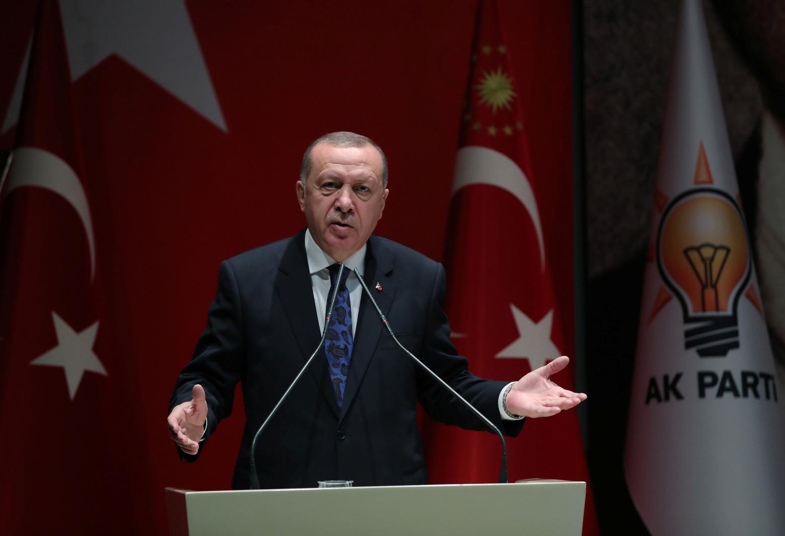 أردوغان: طبول الحرب تدق في المنطقة