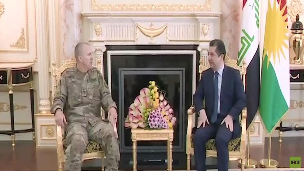 البارزاني: نرفض إقحام كردستان العراق بالصراع