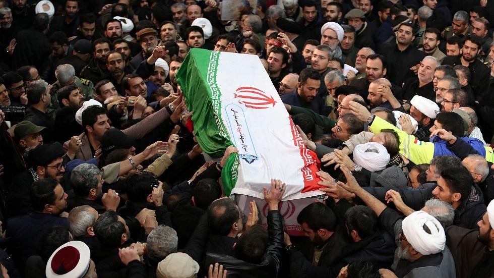 إيران تعلن الحداد على ضحايا التشييع والطائرة الأوكرانية