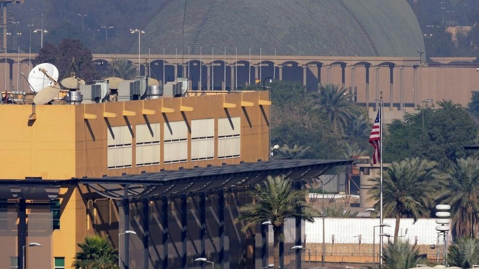 قصف صاروخي على المنطقة الخضراء في بغداد