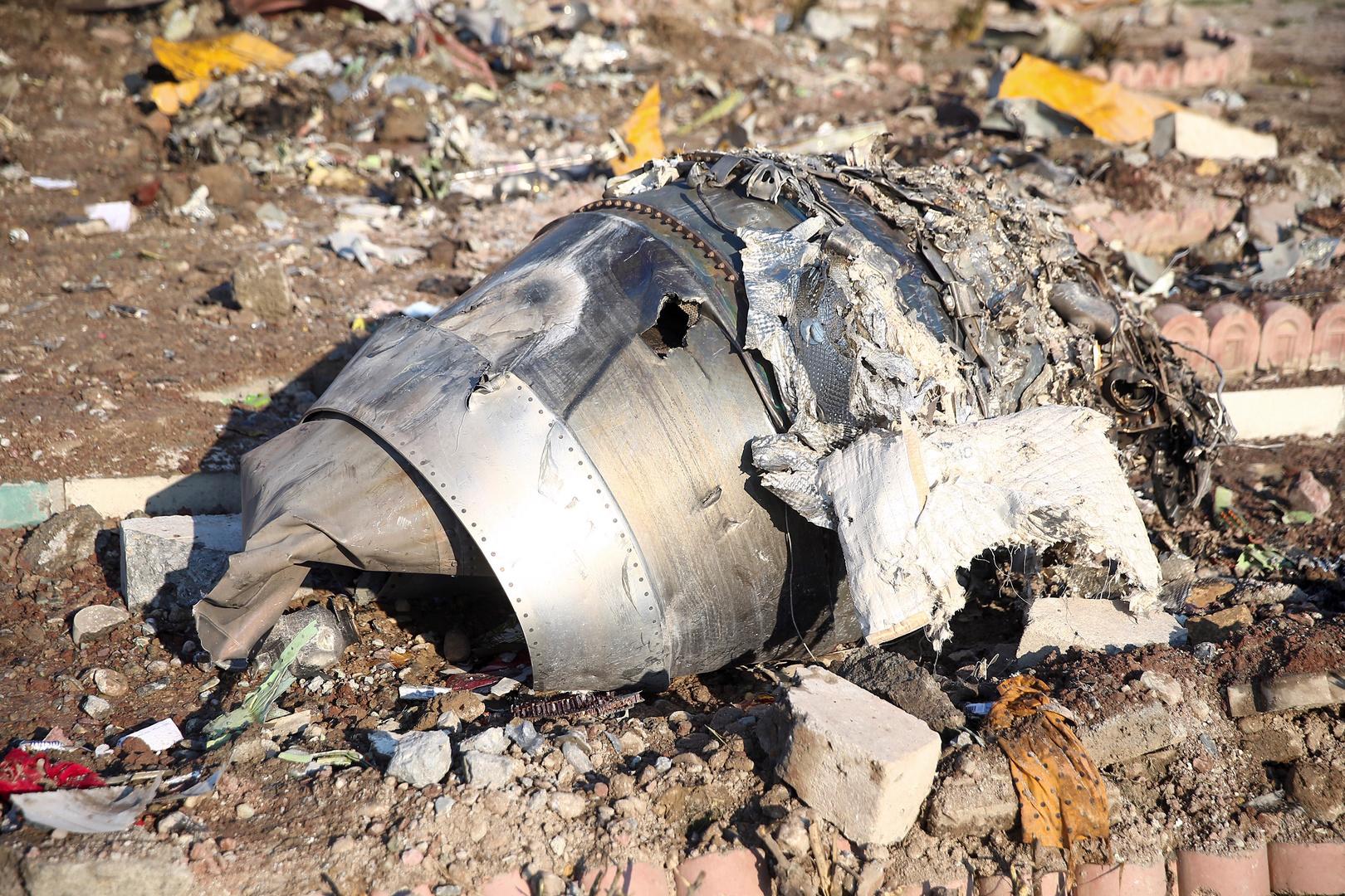 تقرير أولي يكشف سبب تحطم الطائرة الأوكرانية في إيران