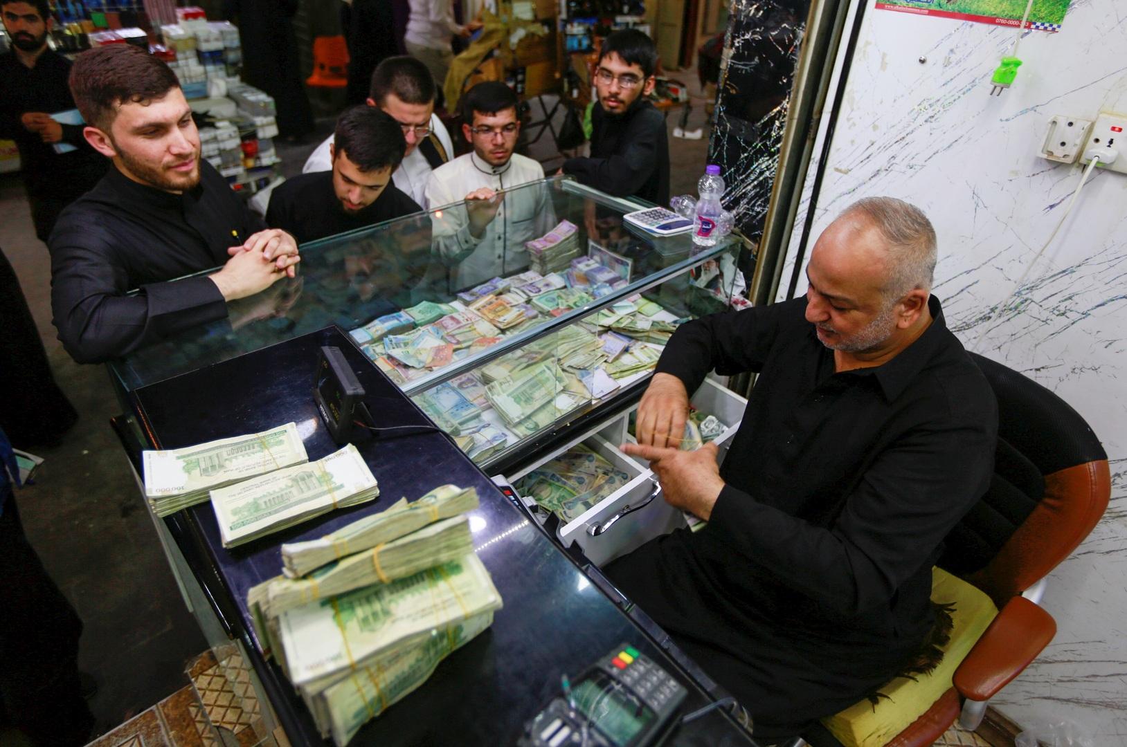 انخفاض الريال الإيراني