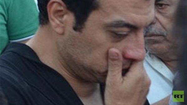 مصرع والد إيهاب توفيق جراء حريق بمنزله (صور)