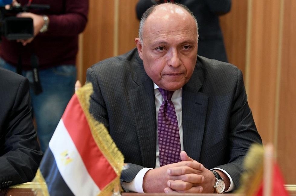 وزير الخارجية المصري يتوجه إلى الجزائر لبحث التطورات المتسارعة في ليبيا