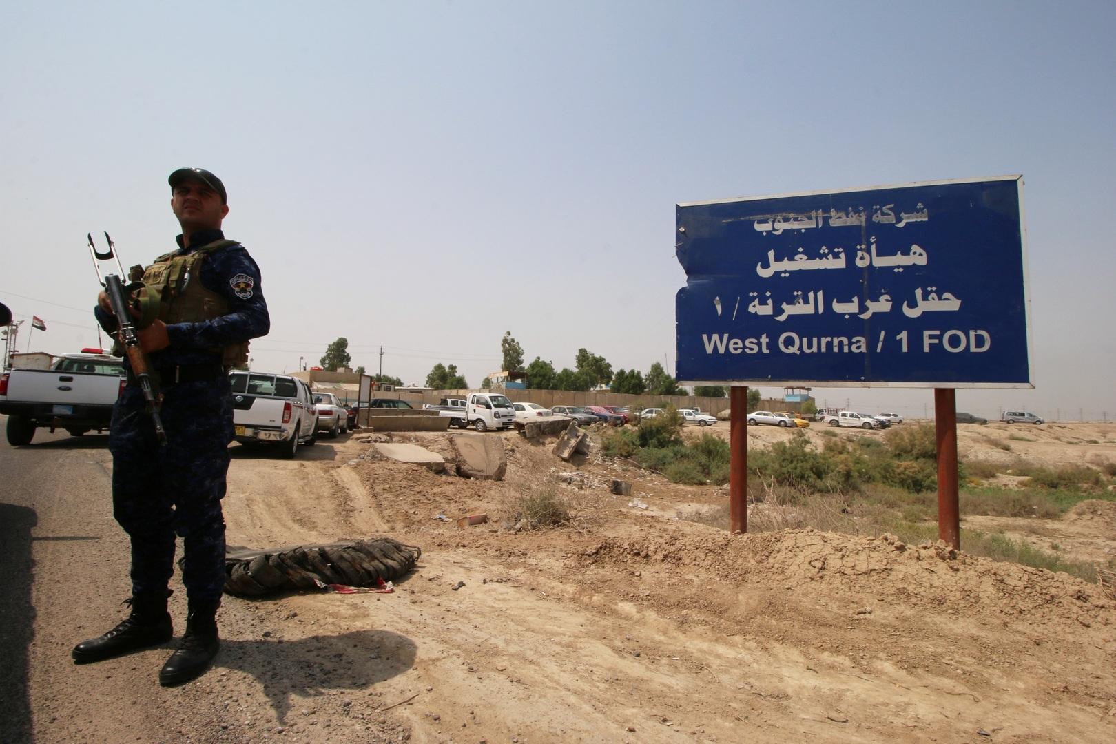بغداد تنفي سحب شركة صينية لموظفيها من حقل