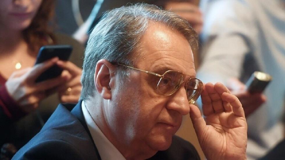 بوغدانوف وسيالة يبحثان هاتفيا تسوية الأزمة في ليبيا