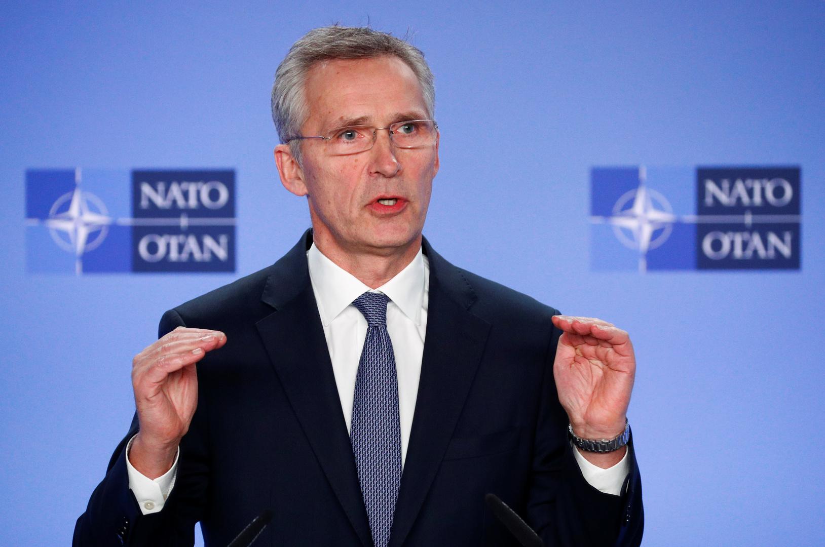 ستولتنبيرغ: توسيع وجود الناتو في الشرق الأوسط قد يشمل أولا تدريب القوات المحلية
