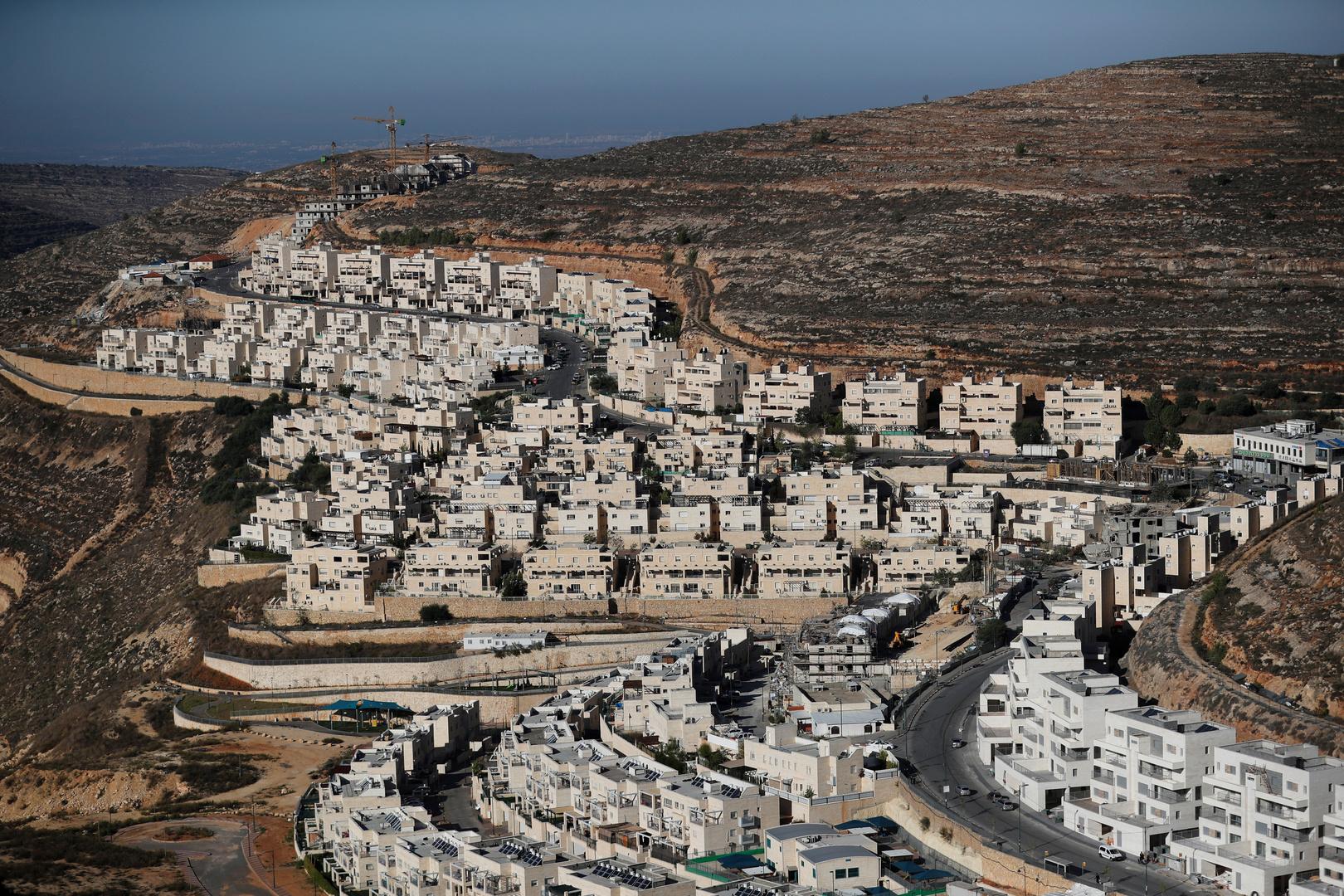مستوطنة إسرائيلية بالضفة الغربية المحتلة