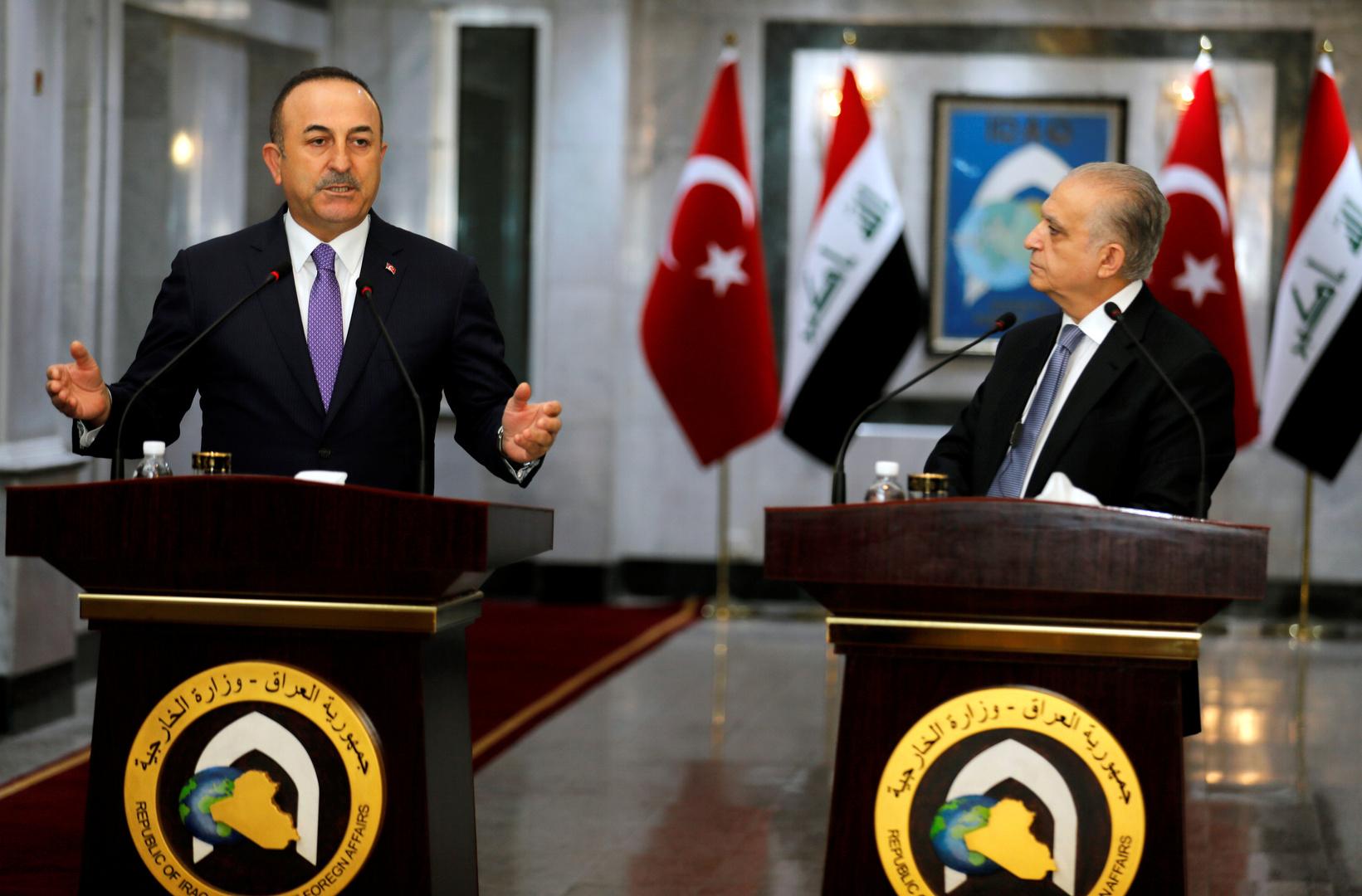 تركيا: العراق ليس وحيدا