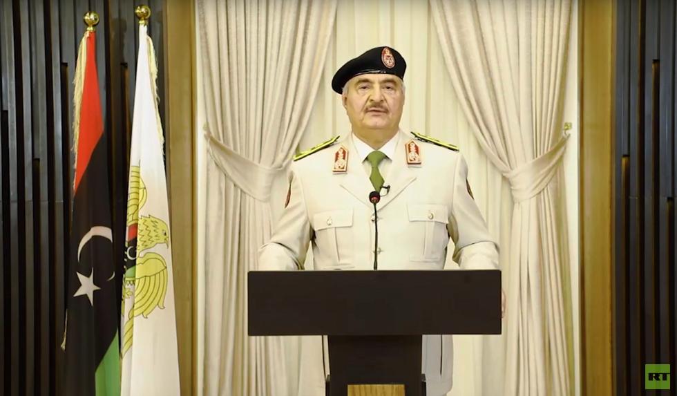 حفتر يرفض الوساطة الروسية التركية (فيديو)