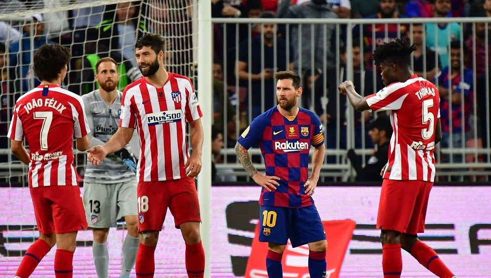 أتلتيكو مدريد يهزم برشلونة في السعودية (فيديو)