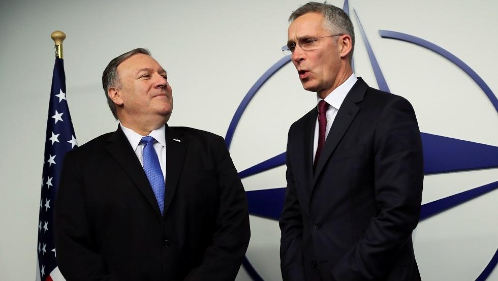بومبيو وستولتنبرغ يتفقان على أن الناتو قد يلعب دورا أكبر في الشرق الأوسط