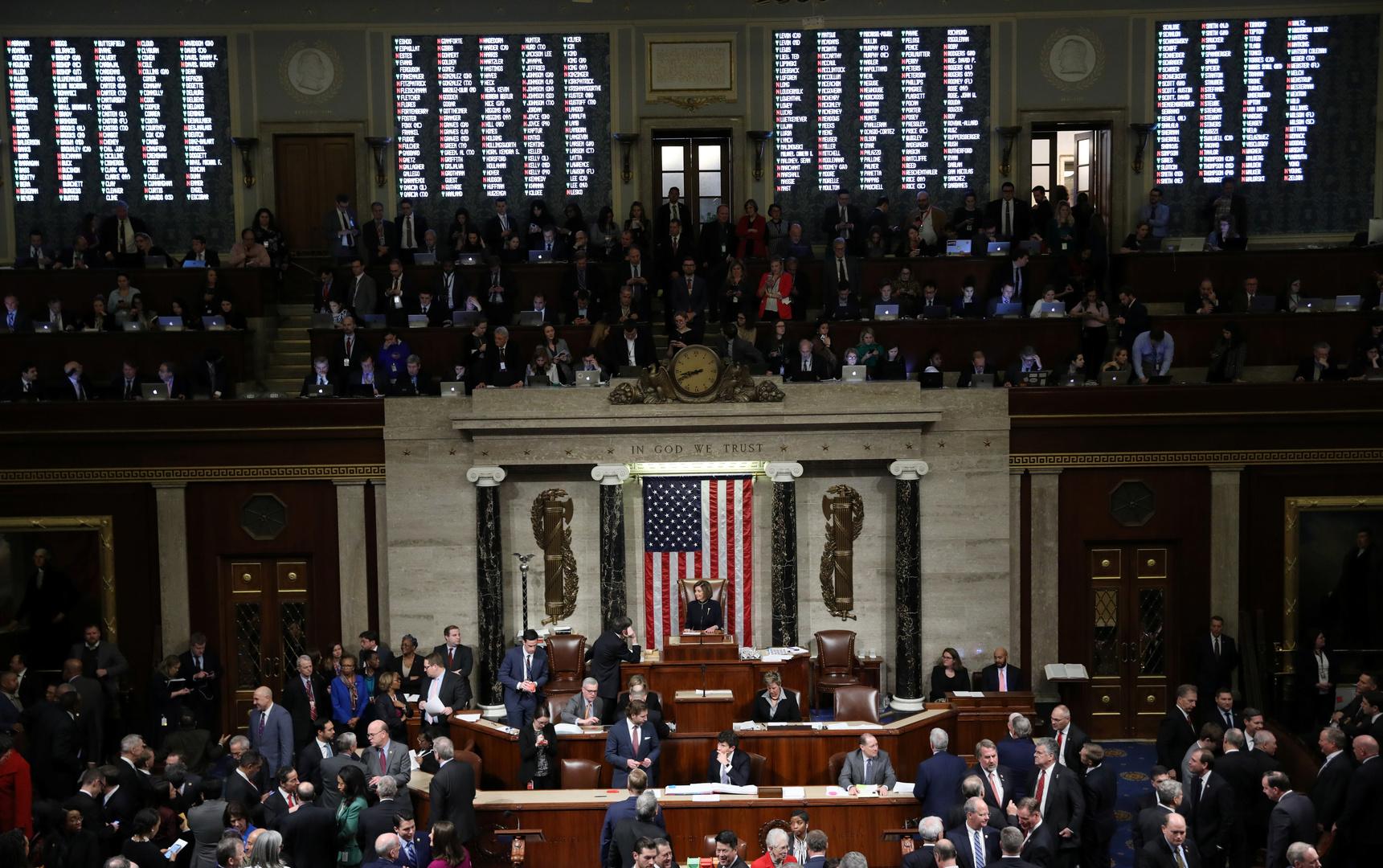 مجلس النواب الأمريكي يحد من قدرة ترامب على شن حرب على إيران