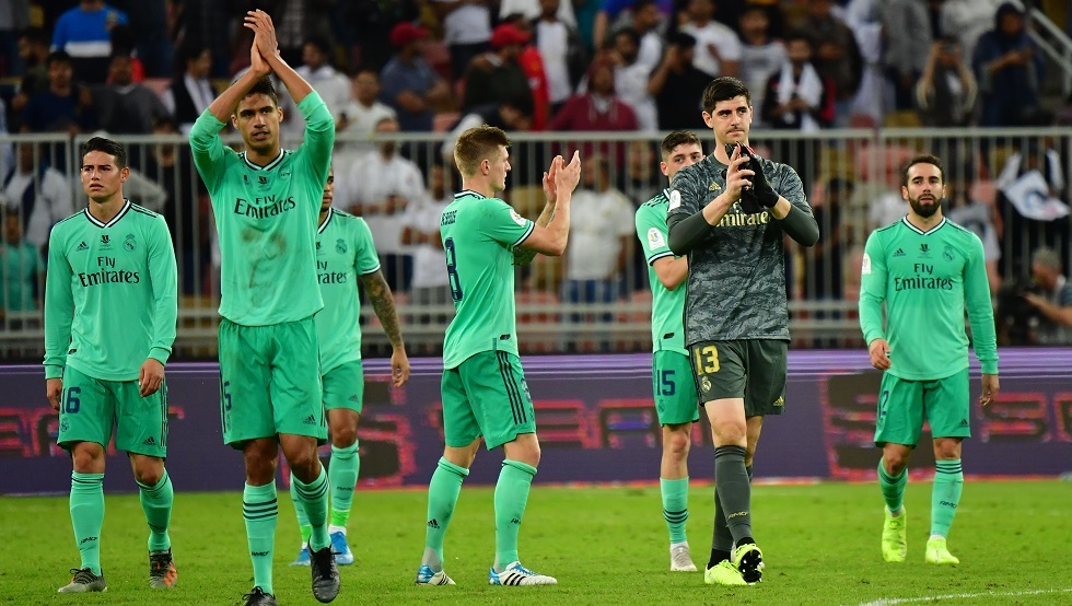 ردة فعل لاعبي ريال مدريد على خسارة برشلونة
