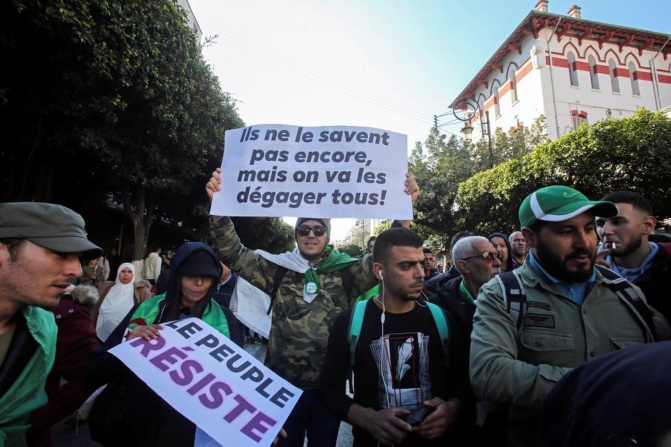 احتجاجات الجزائر في 3 يناير 2019