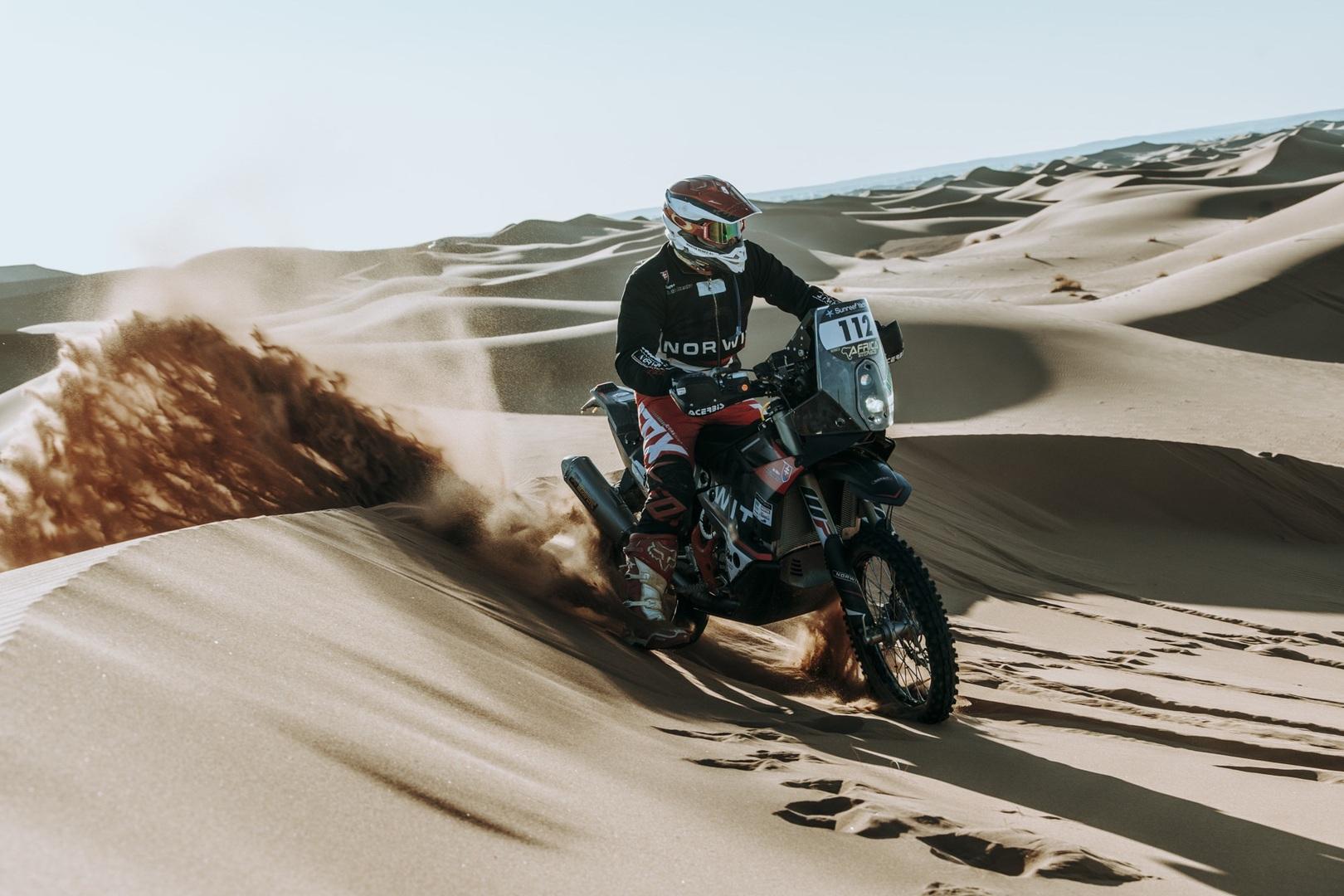 لقطات ساحرة لصحراء المغرب