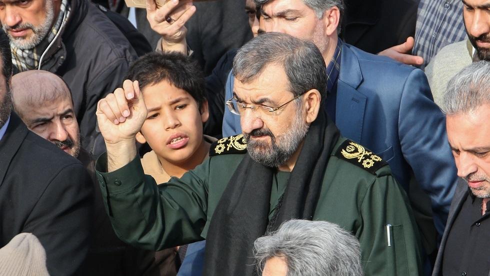 محسن رضائي: أفتخر بفرض عقوبات أمريكية علي
