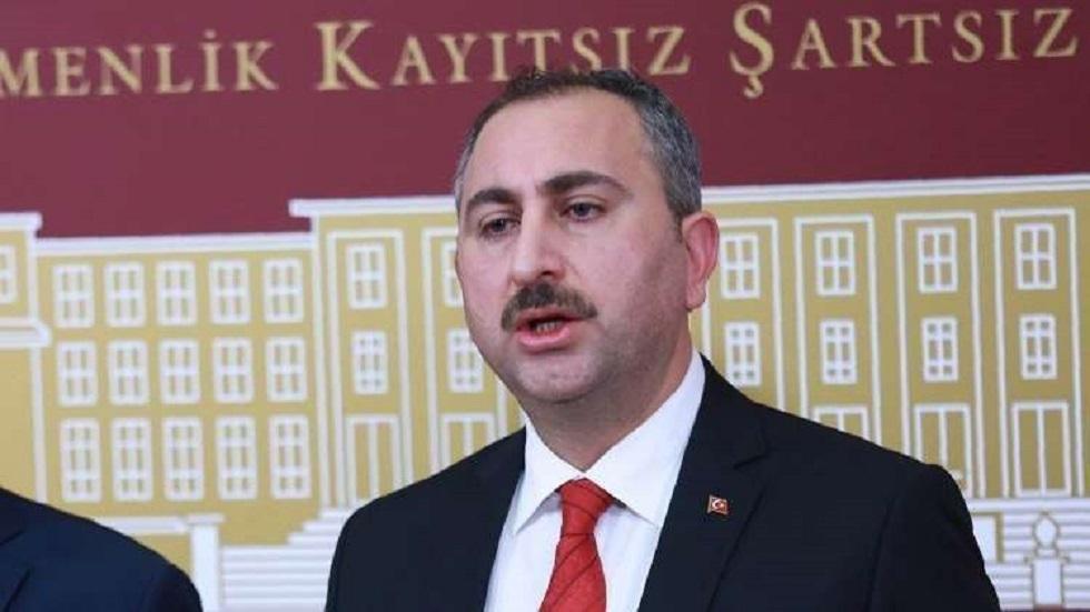 وزير العدل التركي: خطواتنا في شرق المتوسط وسوريا وليبيا متوافقة مع القانون الدولي