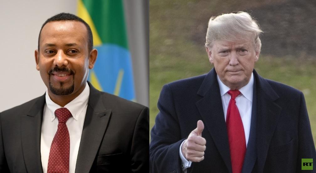 ترامب يدعي إنقاذ إثيوبيا ويلمح لأحقيته في جائزة نوبل للسلام