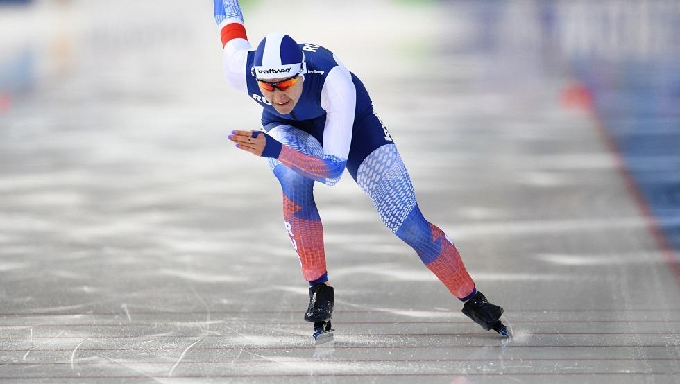 روسيا تحرز ذهبية التزلج السريع على الجليد