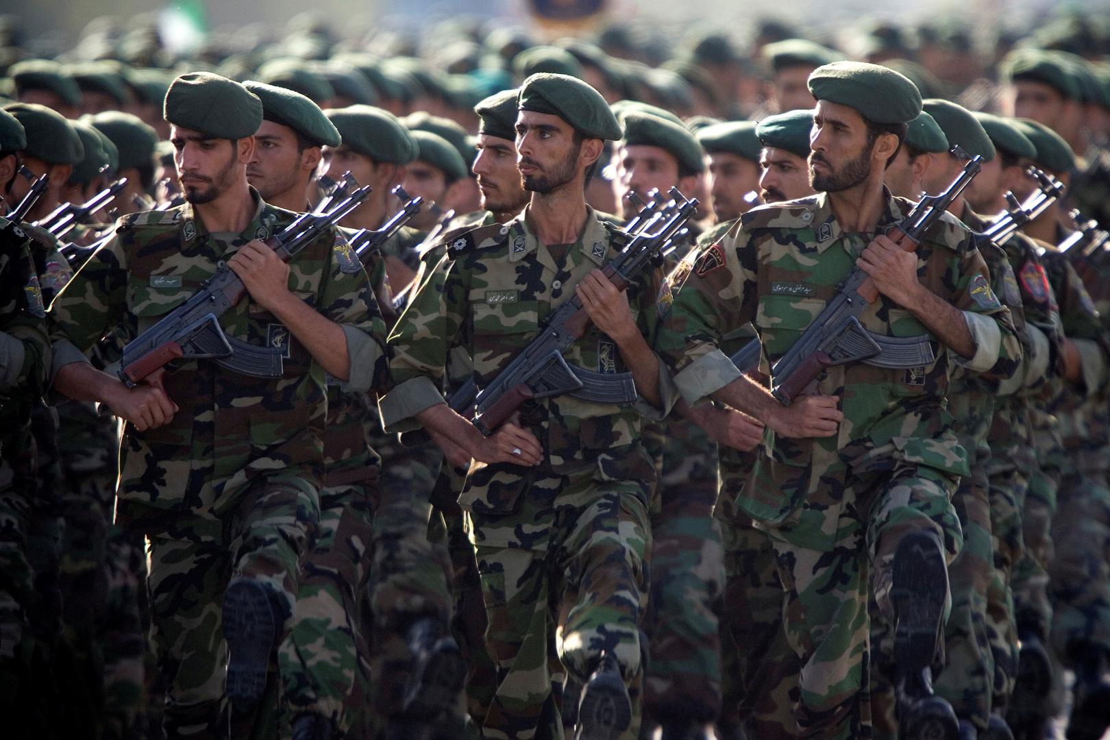 عناصر من الحرس الثوري الإيراني (صورة أرشيفية).