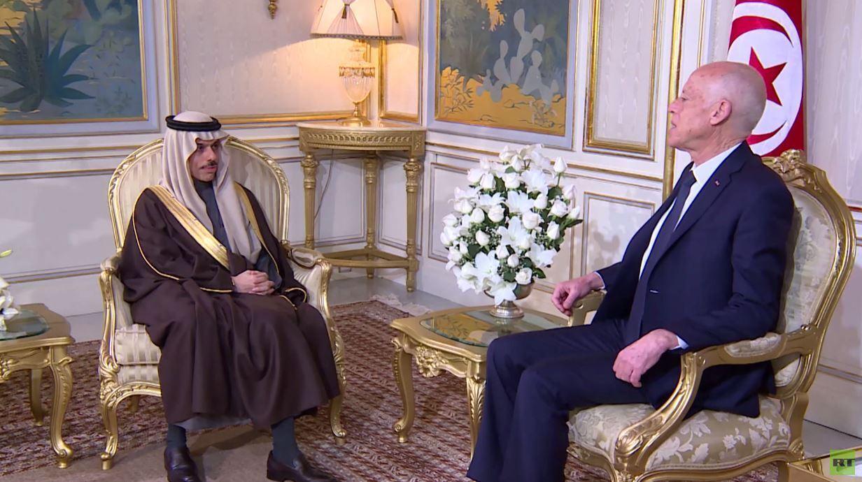 سعيد يبحث مع السعوديين آخر التطورات في المنطقة