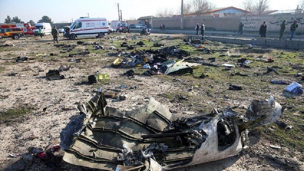 إيران تعترف بإسقاط الطائرة الأوكرانية نتيجة
