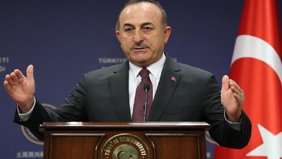 وزير الخارجية التركي: ننتظر من روسيا إقناع خليفة حفتر بوقف إطلاق النار في ليبيا