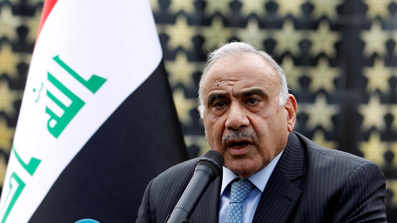عبد المهدي: هناك أساس جيد لحل المشاكل مع إقليم كردستان العراق