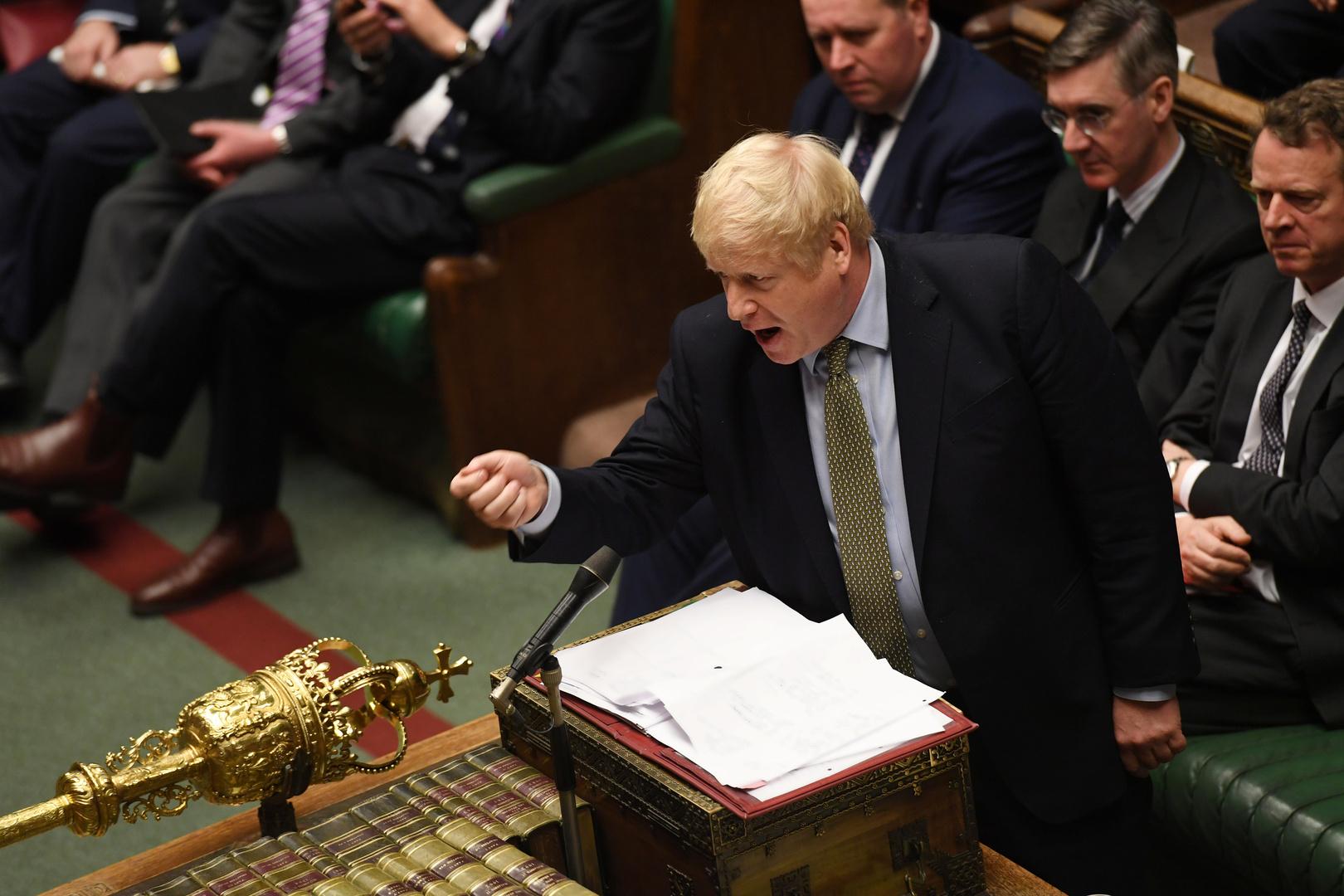 رئيس وزراء بريطانيا، بوريس جونسون