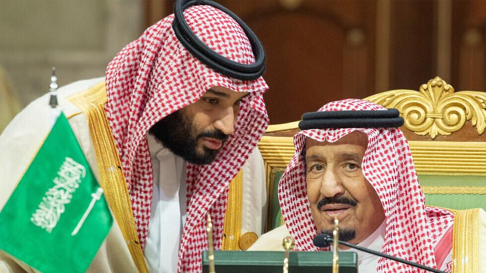 العاهل السعودي، الملك سلمان بن عبد العزيز، وولي عهده، الأمير محمد بن سلمان
