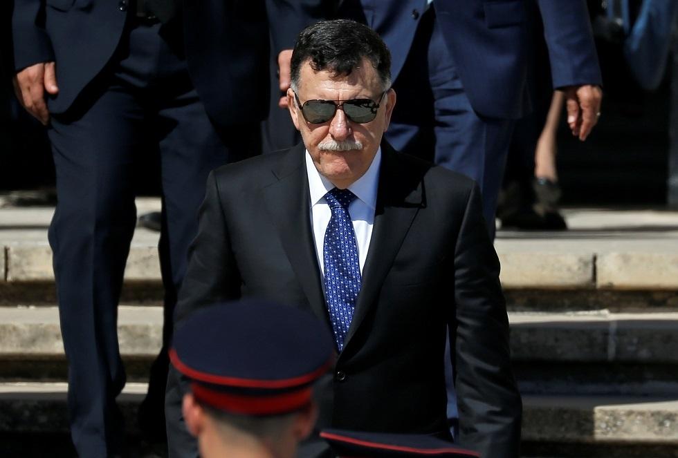 بعد روما.. رئيس حكومة الوفاق الليبية فايز السراج يزور تركيا