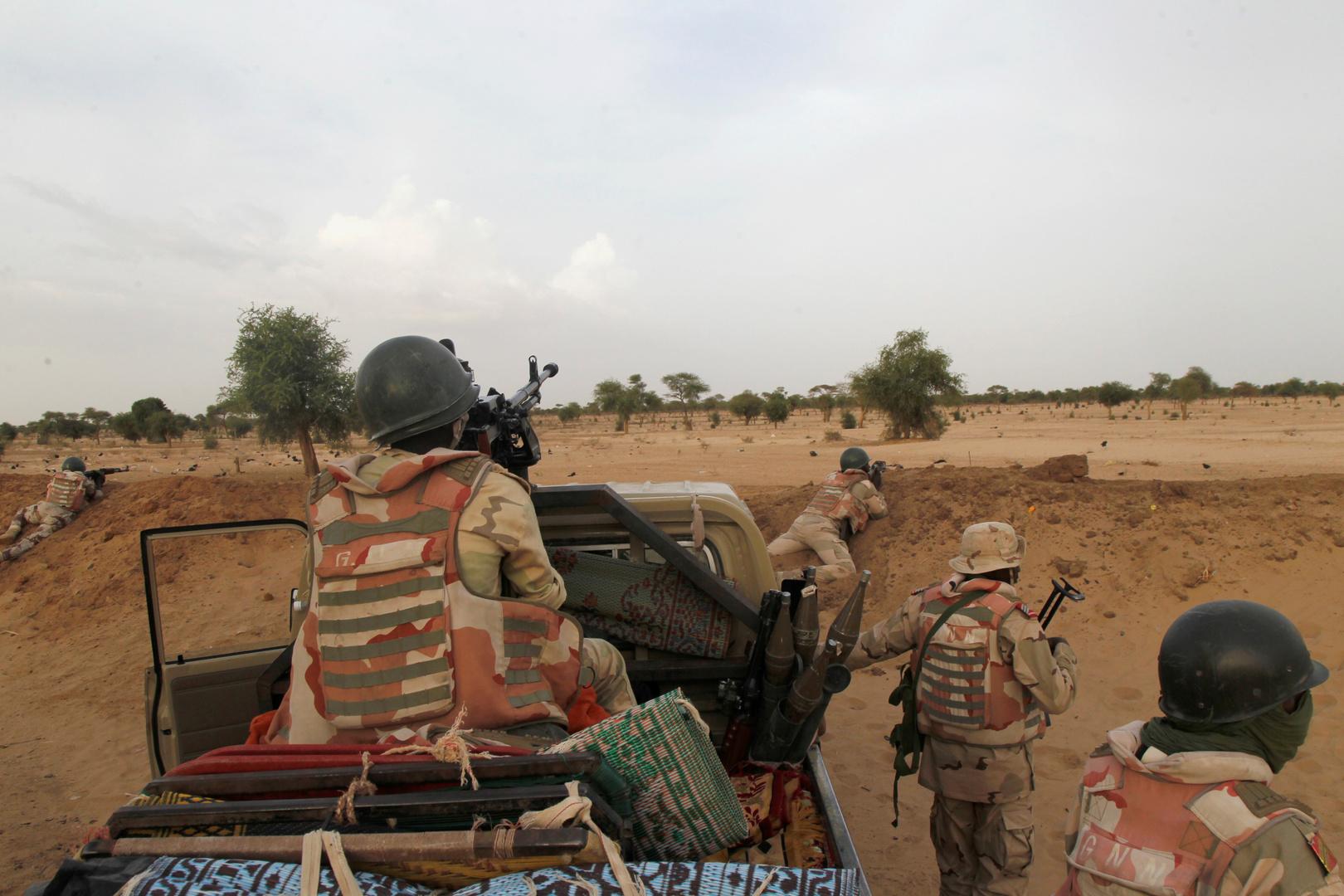 عناصر من الجيش النيجري