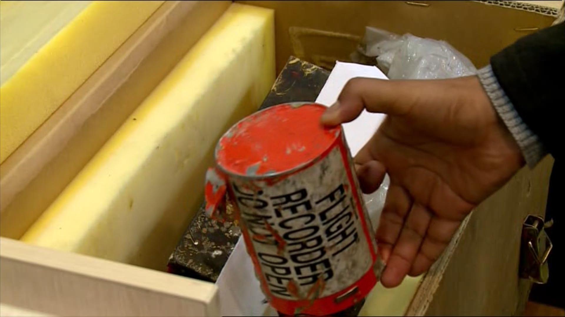 مكتب فرنسي: معالجة بيانات الصندوقين الأسودين للطائرة التي أسقطها صاروخ إيراني ستتم في أوكرانيا