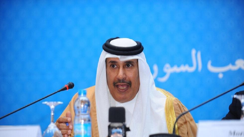 بن جاسم يشيد بالانتقال السلس للسلطة في سلطنة عمان