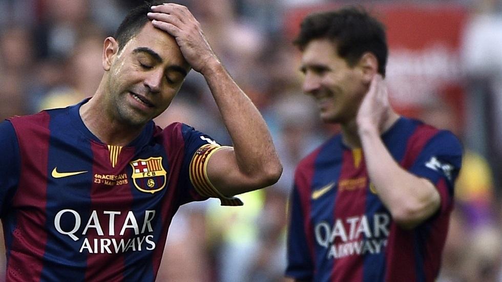 كشف موقف ميسي من تدريب تشافي لبرشلونة