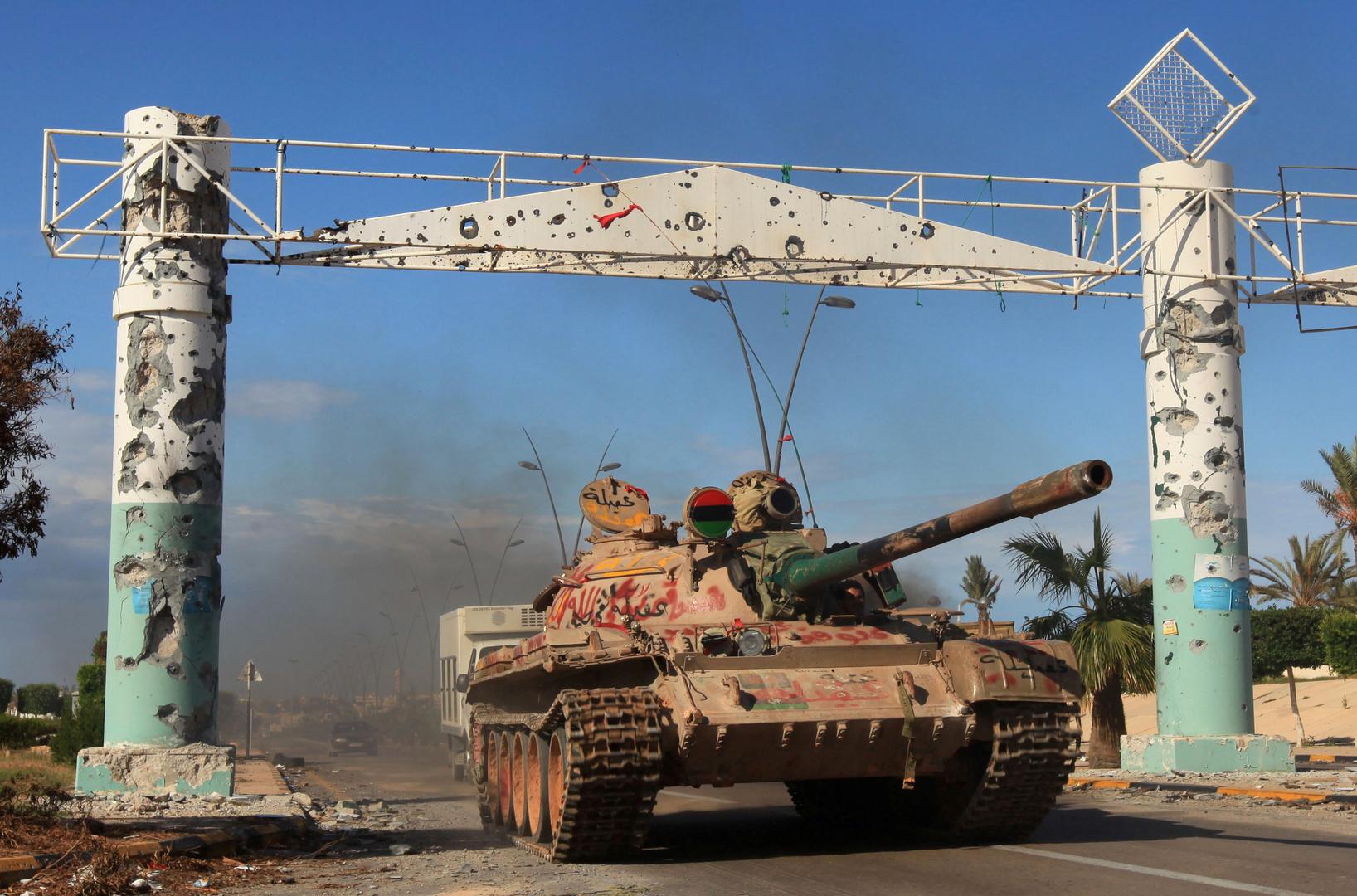 طرفا الصراع في ليبيا يتبادلان الاتهامات بخرق وقف إطلاق النار