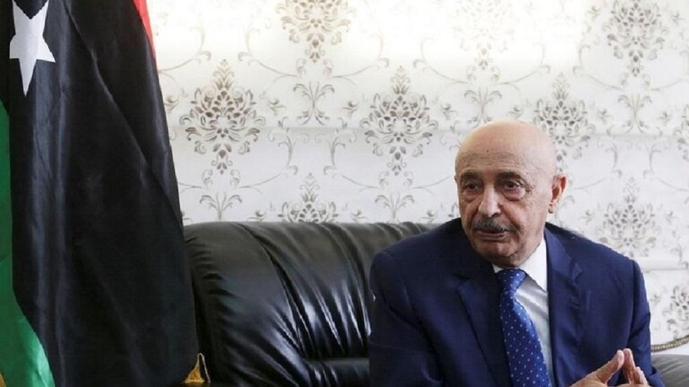عقيلة صالح: قد نضطر لدعوة القوات المسلحة المصرية للتدخل إذا حدث غزو أجنبي