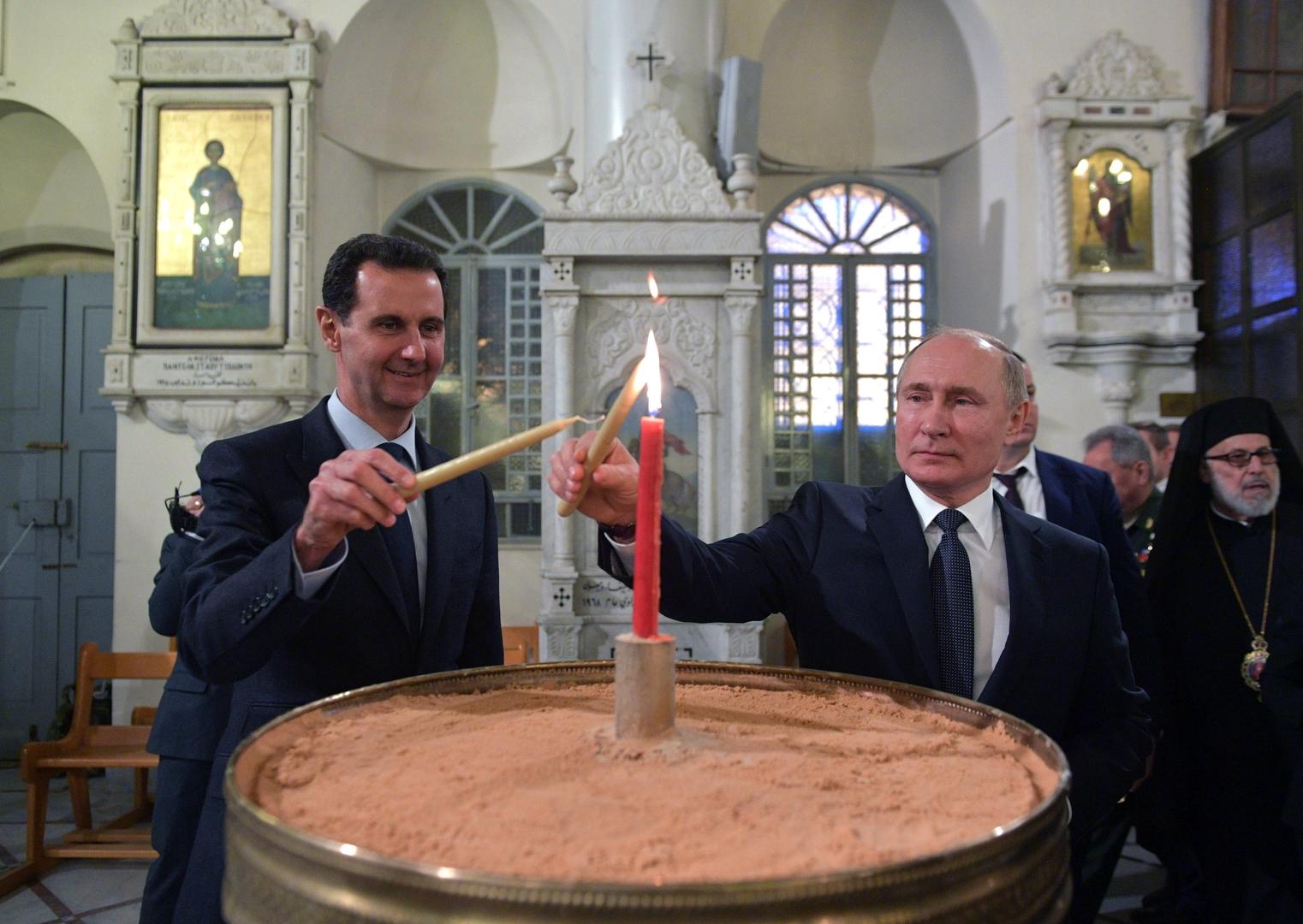 بالفيديو.. بوتين يقترح على الأسد دعوة ترامب إلى دمشق.. ماذا كان رد الرئيس السوري؟