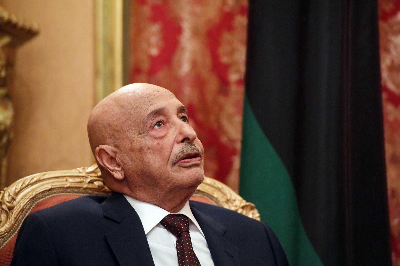 رئيس مجلس النواب الليبي إلى موسكو لبحث وقف إطلاق النار