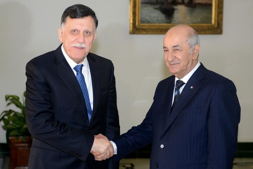 الجزائر ترحب بوقف إطلاق النار في ليبيا